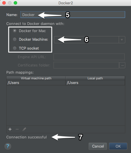 Debug docker server for phpstorm